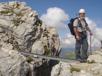 Klettersteig Mindelheimer : Mindelheimer klettersteig klettersteige sommer alpinschule